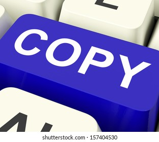 Copy Keys Meaning Duplication Replication Or Copying