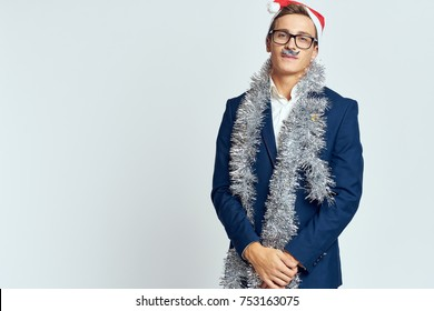 copy place, office worker, accessory for a photo shoot, holiday, corporate, 2018, new year
