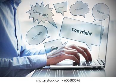 Copyright, Business Concept