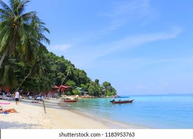 Coral Bay beach, Perhentian Kecil Island, Malaysia.