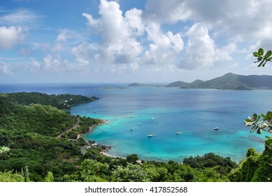 Coral Bay on St. John's in the U.S. Virgin Islands