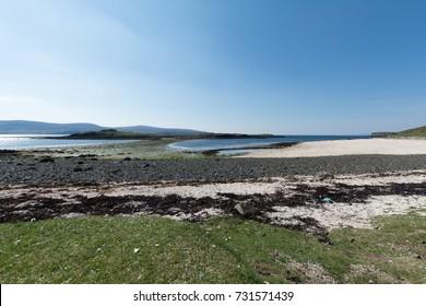 Coral Beaches near Dunvegan on the Isle of Skye, Scotland, UK
