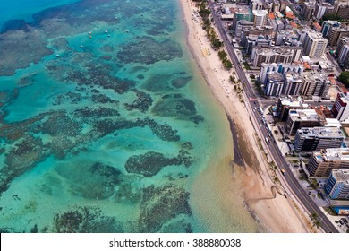 coral coast / ocean / aerial landscape from Macei