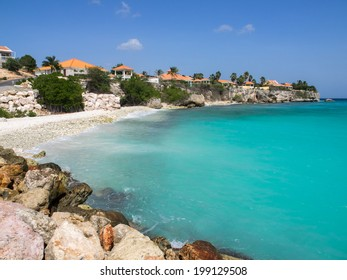 Coral Estate a housing estate on the coast of Curacao Caribbean