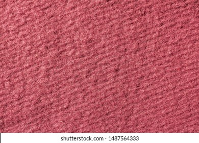 Coral Fabric Texture. Fabric background texture / Wool texture macro fabric / Textile material close-up