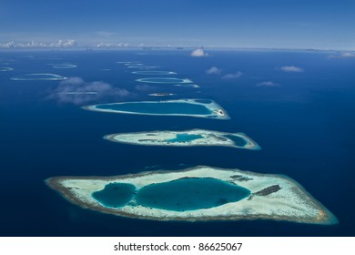 Coral Reef Atolls and Lagoons