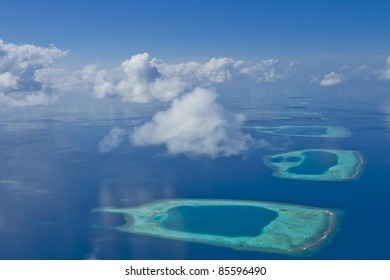 Coral Reefs and Calm Blue Water