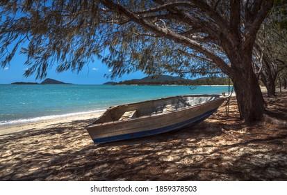 Coral sea beach sunny tropical Whitsundays Airlie beach north Queensland