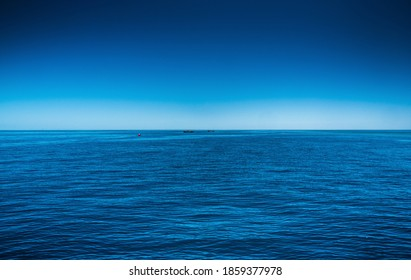 Coral sea great barrier reef Airlie beach ocean horizon Whitsunday passage
