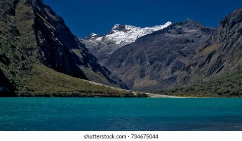 Cordillera Blanca in the Andes