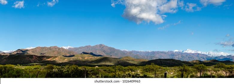 Cordillera Frontal, Valle de Uco, Mendoza - Argentina