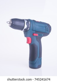 cordless drill. cordless drill on a background