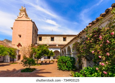 CORDOBA, ARGENTINA - OCTOBER 03, 2009: View of Jesuit missionary buildings, in Cordoba, Argentina