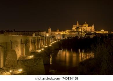 Cordoba Spain at night