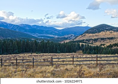 Cordova Pass lies right in the middle of the Spanish Peaks Wilderness in southern Colorado.  Seen here in early winter before snows have fallen, the area is a stunning mountain landscape.