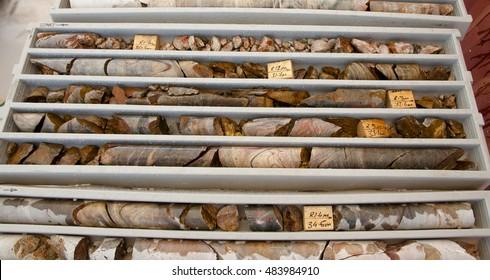 Core Rocks for Gold Exploration