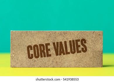 Core Values, Business Concept