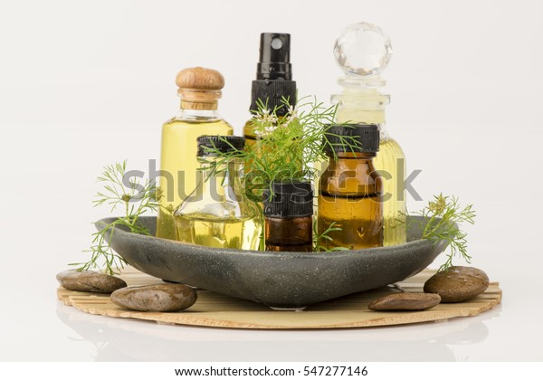 Coriander Essential Oil: Used as a cosmetic ingredient used in the spa.