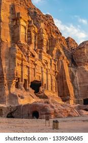 Corinthian tomb at petra, Jordan
