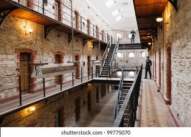 Cork City Gaol. Now historical jail museum. Cork, Republic of Ireland