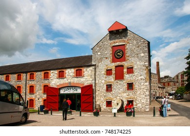 CORK, IRELAND - JUNE 20, 2008:  The Jameson Heritage Centre  in Midleton Co. Cork, 12 miles east of Cork City on the main Cork Waterford Road. Old Midleton Distillery is museum of Irish whiskey.