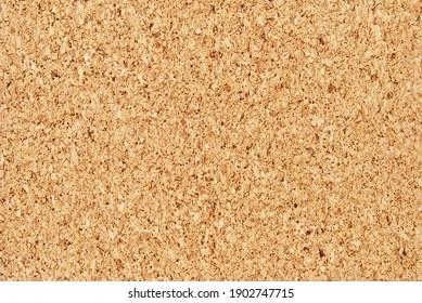 Cork texture, cork board background close up