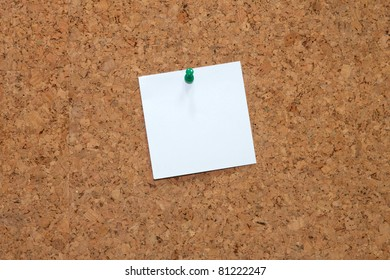 Cork-board - Close-up of a cork-board texture
