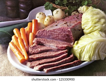 Corn Beef And Cabbage on St Patrick's Day