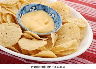 Corn chips and dip