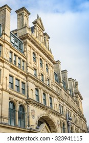 The Corn Exchange, Manchester, UK - October 4: The popularity of the Corn Exchange in Manchester on October 4th 2015 has spurred on a redevelopment process for the area.