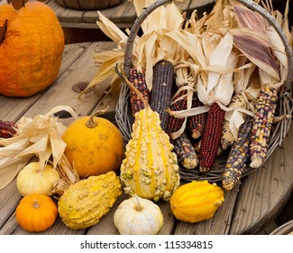 Corn holiday decorations
