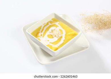 Corn salvage with coconut juice