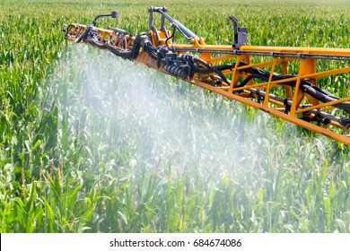 Corn Spraying,chemicals management