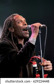Cornbury Festival - July 8th 2016: Ranking Roger performing with  British Ska band The Beat, Main Stage, Cornbury Festival, Great Tew, Chipping Norton, Oxfordshire, July 8, 2016 in Oxfordshire, UK
