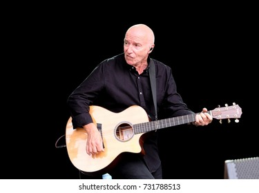 """Cornbury Festival - July 9th 2017:  Singer songwriter James """"Midge"""" Ure formerly of Ultravox  performing at Cornbury Festival, Great Tew, Chipping Norton, Oxfordshire, July 9, 2017 in Oxfordshire, UK"""