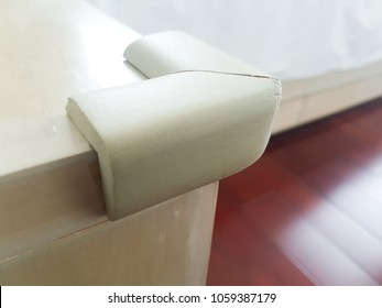 A corner bumper for protect kids from sharp corner.
