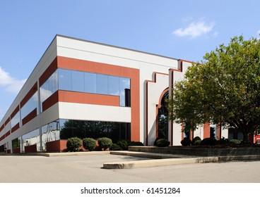 Corner Business Building