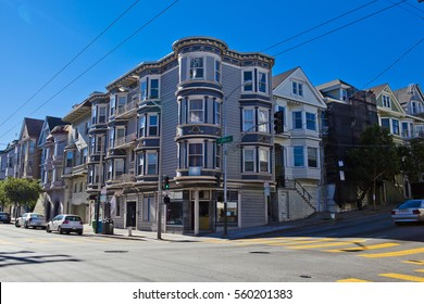 CORNER HOUSE IN SAN FRANCISCO