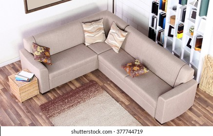 1000+ Corner Sofa Stock Images, Photos & Vectors | Shutterstock