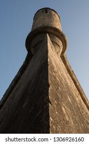 Corner turret of an old fort