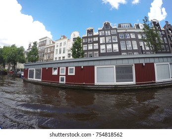 corners and glimpses Along the canals of Amsterdam, the Netherlands, Holland.