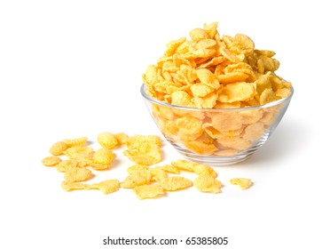 CornFlakes isolated on a white background