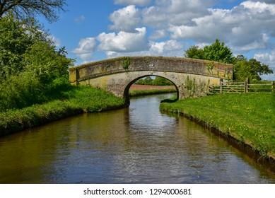 Cornhill bridge No 47 over the Llangollen Canal near Bettisfield in Wales, UK