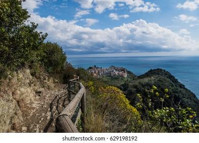 Corniglia (Cinque Terre Italy) landscape