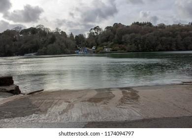 A Cornish ferry crossing.