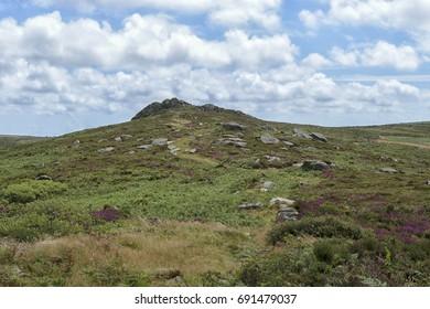Cornish Hill, Cornish Country Side, Cornwall