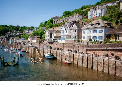 Cornish village town Looe in Cornwall United Kingdom
