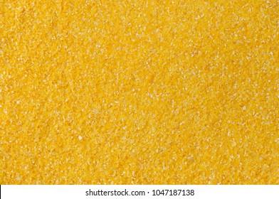 Cornmeal or corn flour background