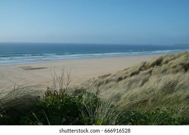 Cornwall. Cornwall beach.