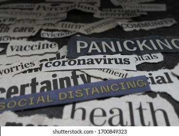 Corona Virus and economy related news headlines